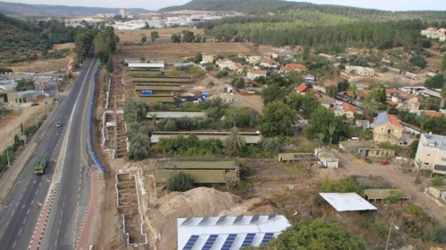 Roadside dig Reveals 10,000 Year Old House In Israel