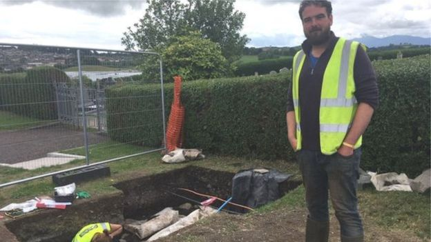"Archaeologist Brian Sloan believes there is ""more to be found"" in Downpatrick"