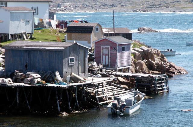 A Newfoundland fishing outport