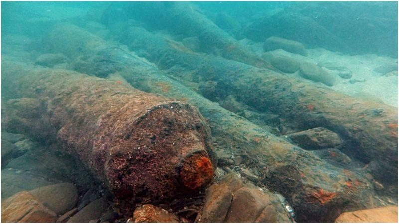 Sunken 17th-Century 'Pirate Ship' Discovered in Cornwall coast of England