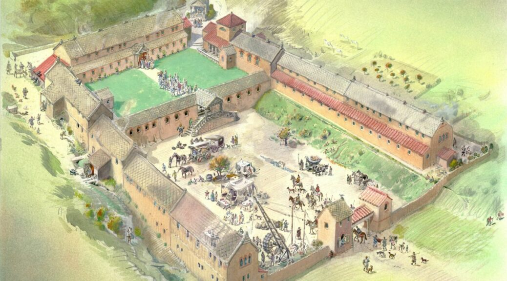 A Massive Roman Villa Has Been Found In Oxfordshire, England