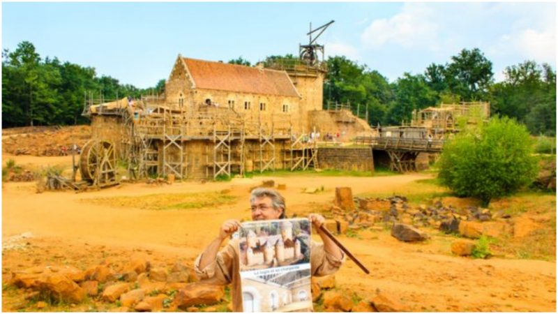 World's Biggest Archaeology Experiment – Building a Medieval Castle from Scratch