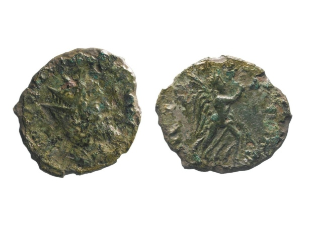 This is only the second coin of Emperor Laelianus to be discovered in England.