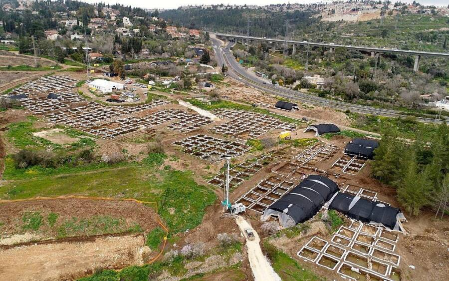 A 'game changer': Vast, developed 9,000-year-old settlement found near Jerusalem