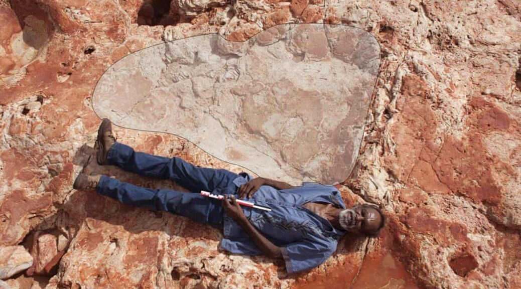 Newly Discovered Human-Sized Dinosaur Footprint Is The Largest Ever Found