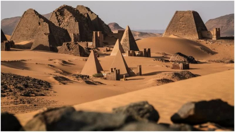 Egypt isn't the country with the most pyramids, Sudan is with nearly twice as many
