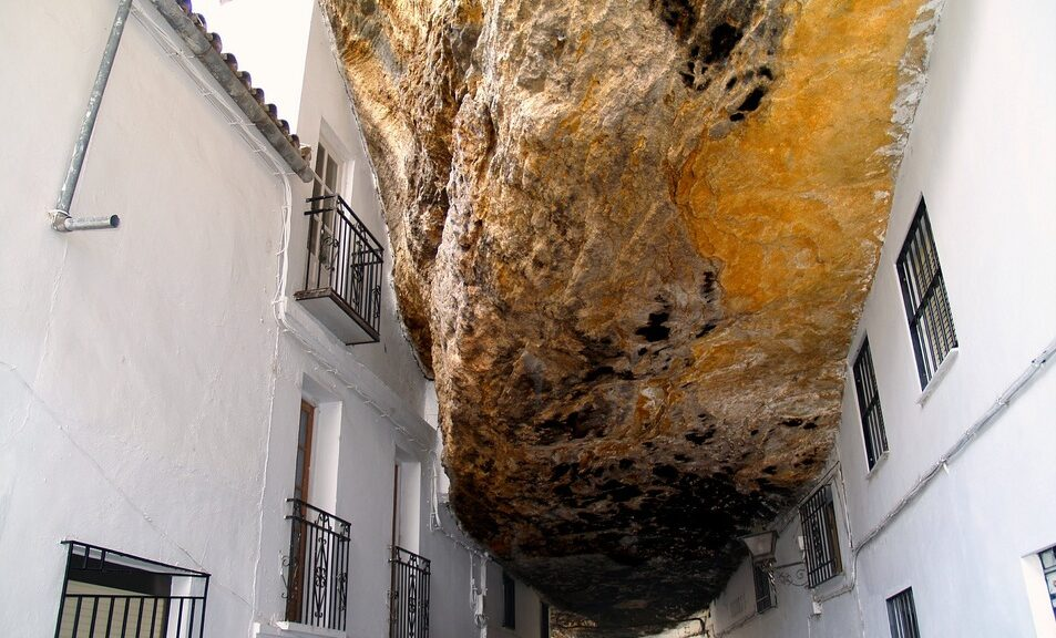 The Town that is Literally Living Under a Rock
