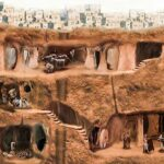 Derinkuyu: the advanced underground city in Turkey using ventilation shafts that could date as far back as 15th century BC